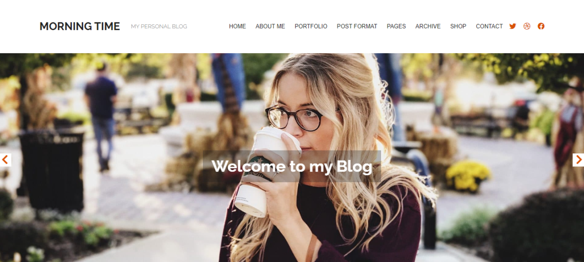 Morning Time WordPress Theme