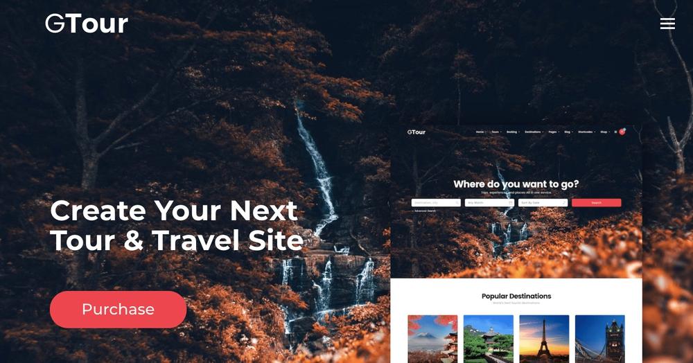 Grand Tour WordPress Theme