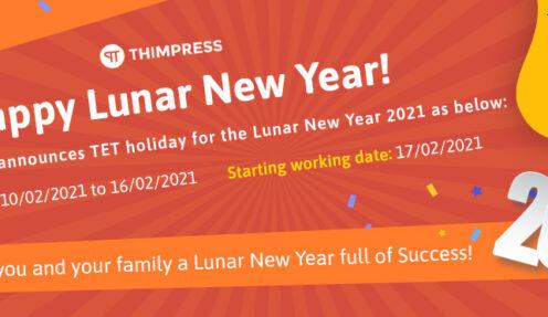 Lunar New Year 2021 Announcement!