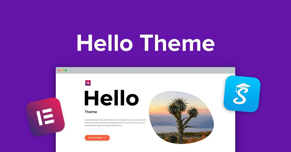 Hello WordPress WooCommerce Theme