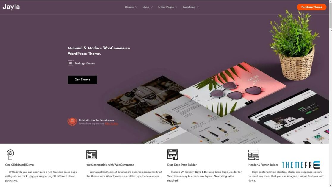 Jayla WordPress Theme
