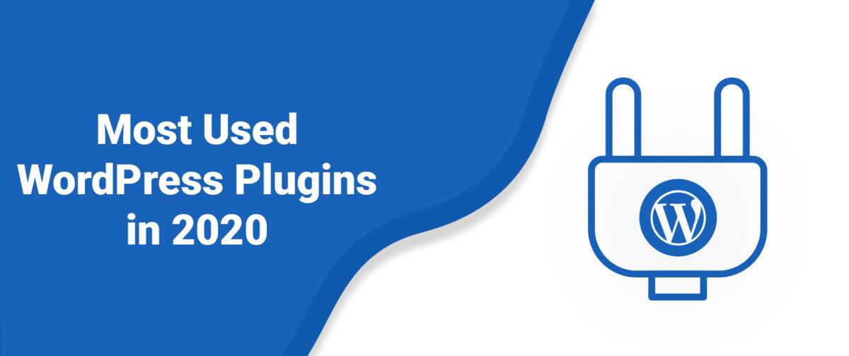 Most Used WordPress Plugins in 2020