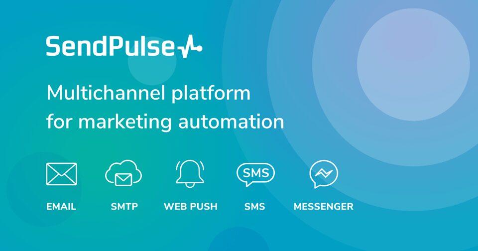 sendPulse email marketing service