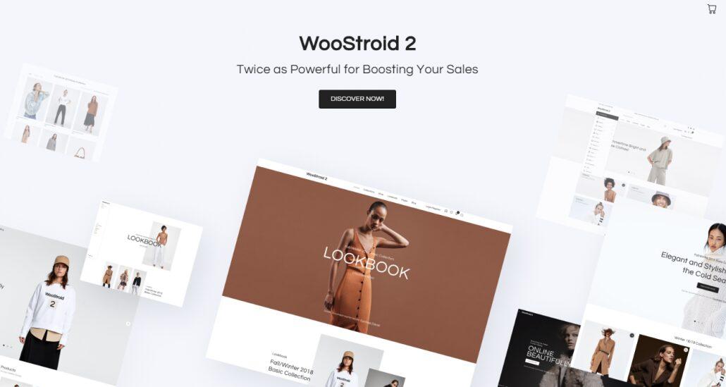 Woostroid 2 wordpress ecommerce theme