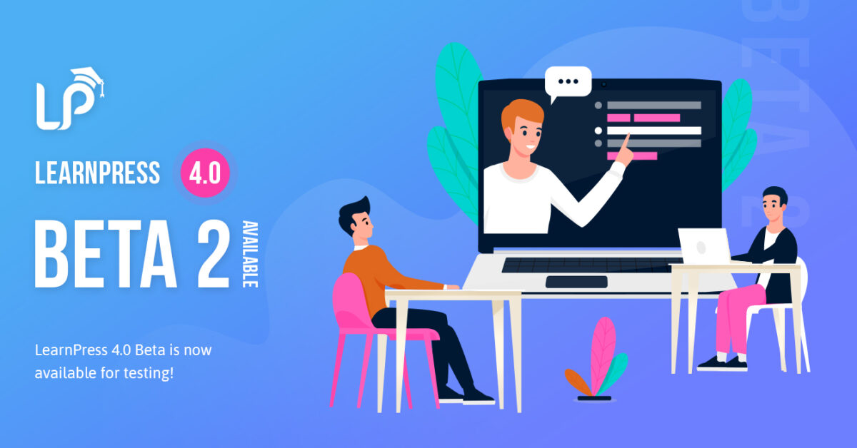 LearnPress 4.0 Beta 2