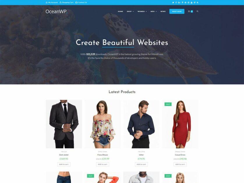 Ocean WP Blog Theme