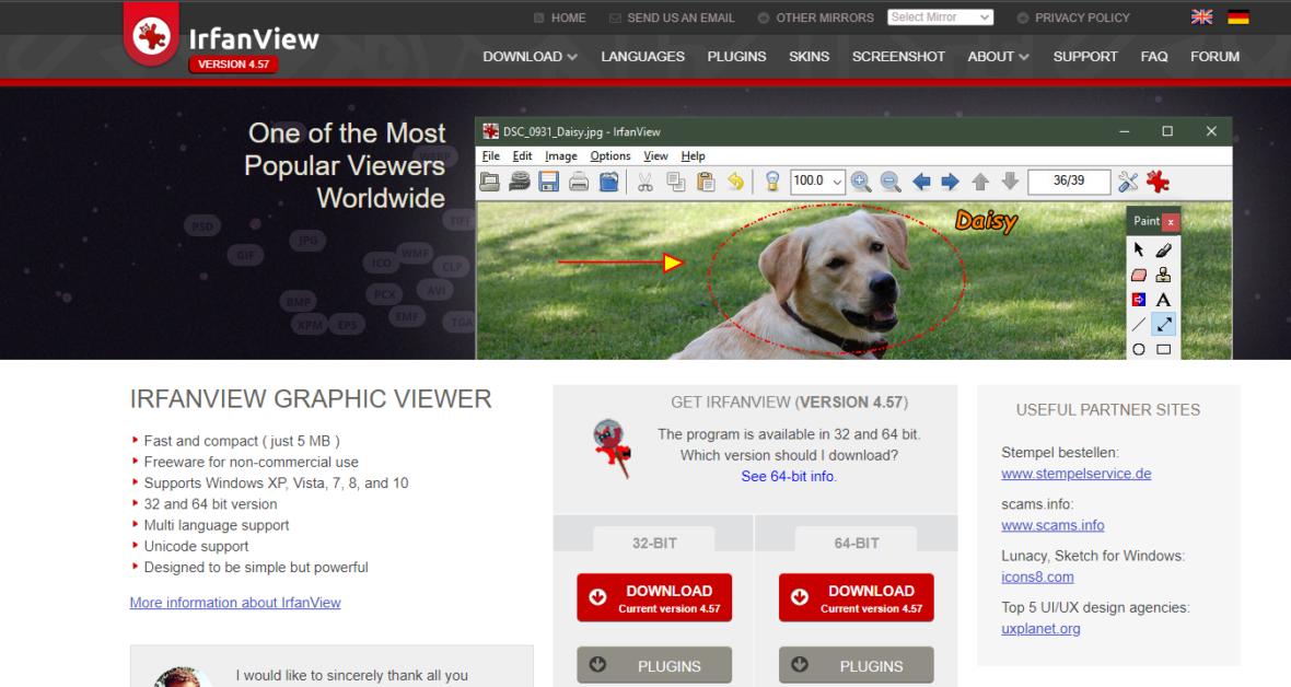 irfanview graphic viewer