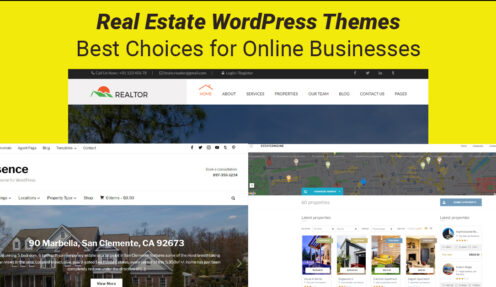 Real Estate WordPress Themes – Best Choices for Online Businesses