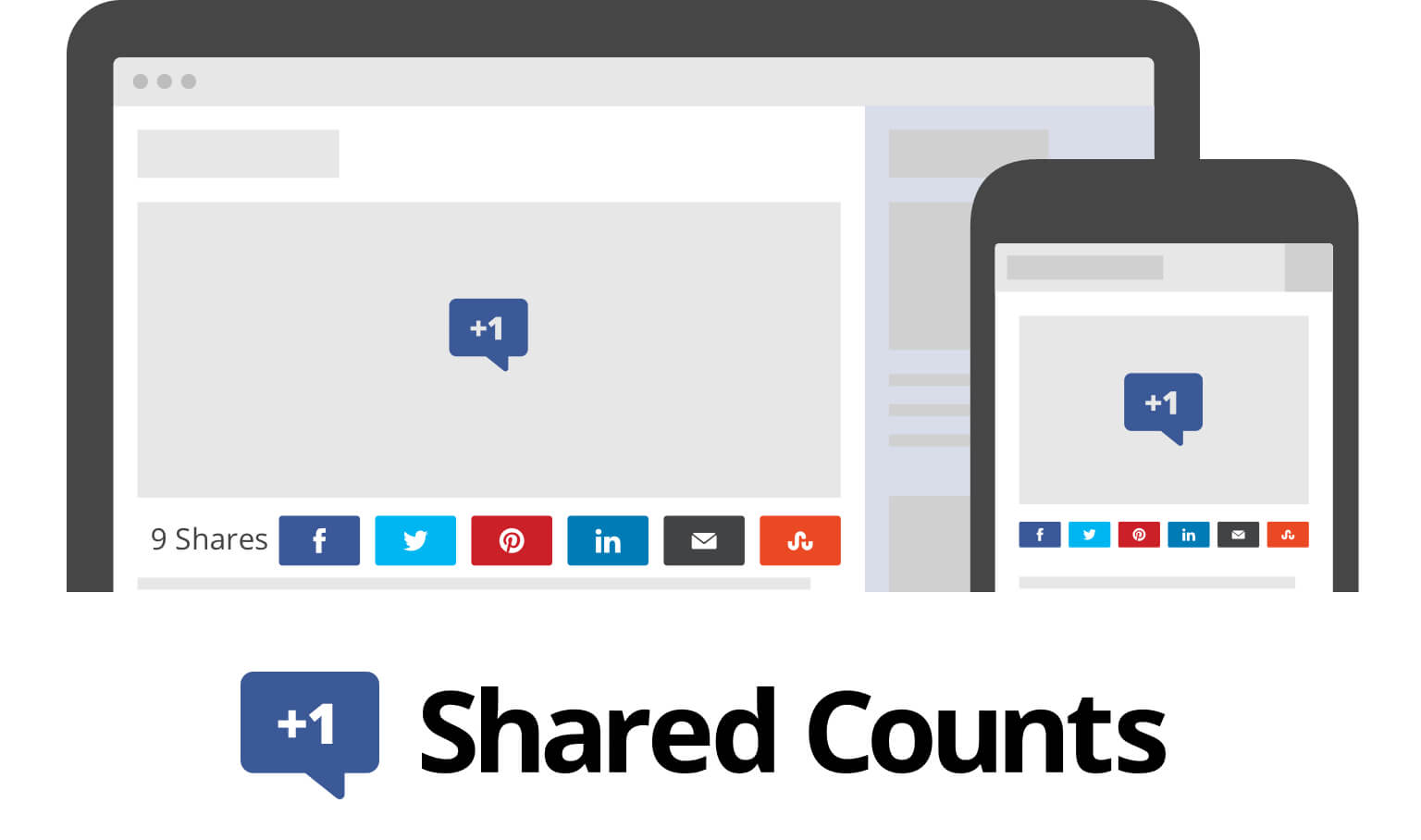 sharing counts plugin