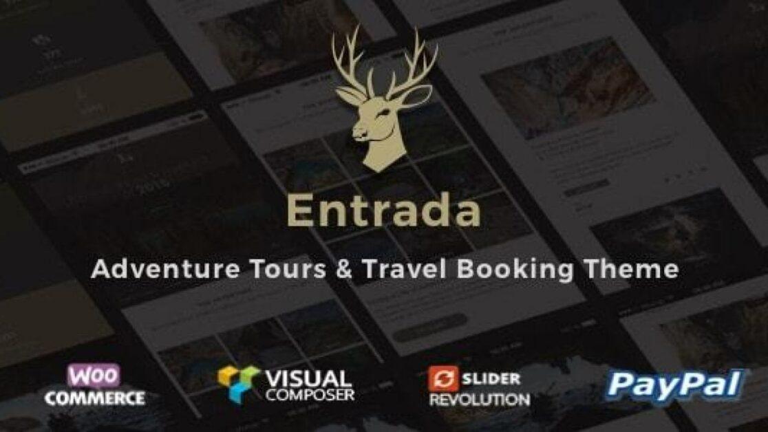 Entrada WordPress Travel Agency Theme