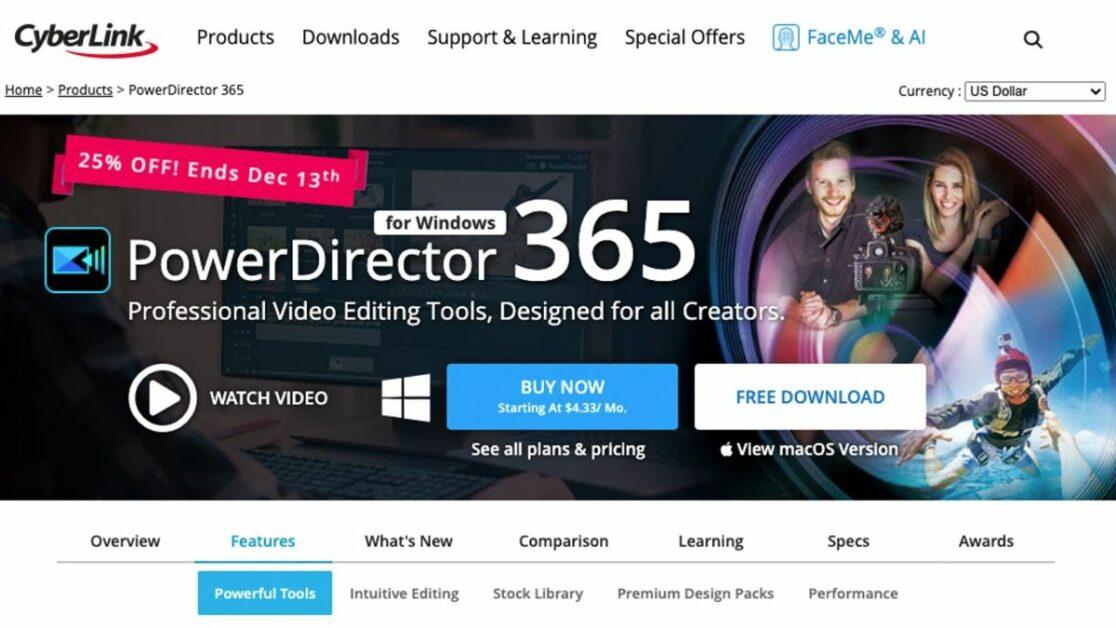 cyberlink-powerdirector-editting-video-software