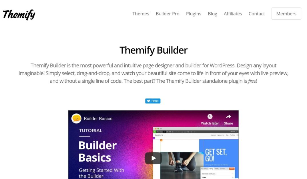 Themify Drag and Drop WordPress Page Builders