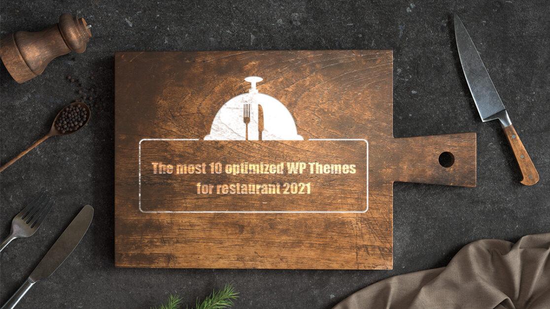 wordpress themes for restaurant