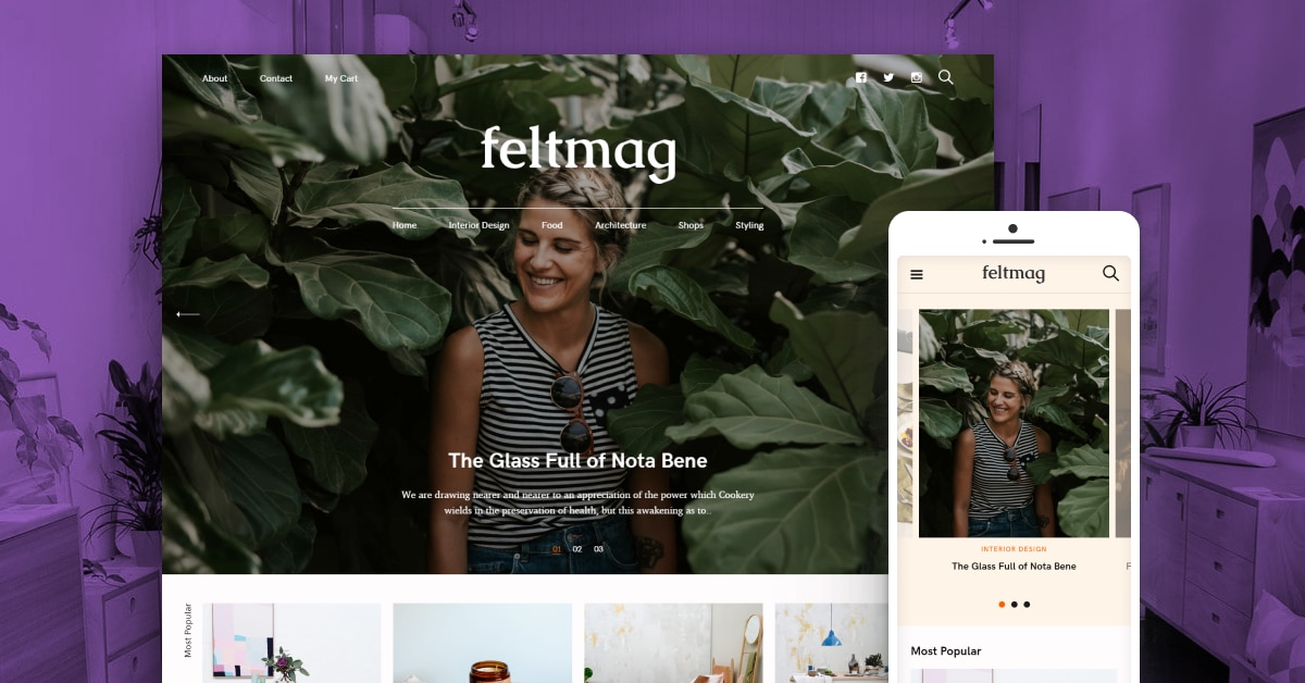feltmag wordpress theme
