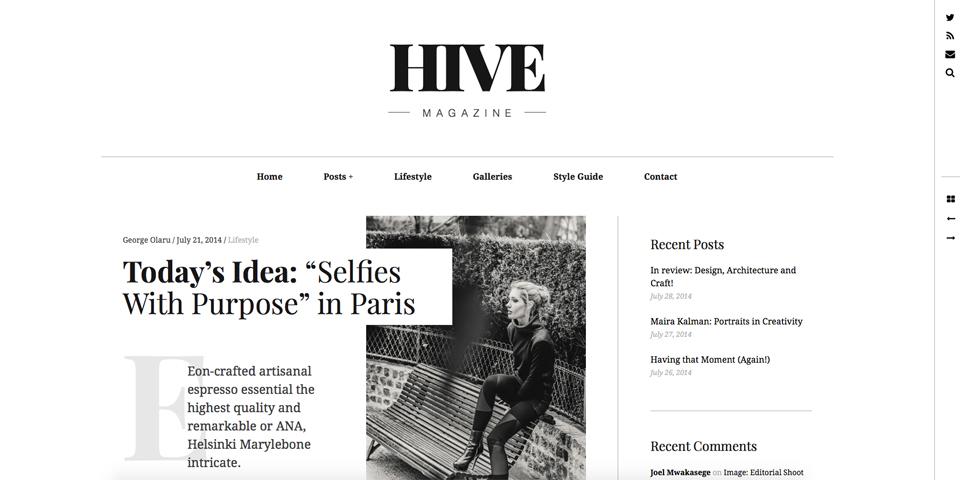hive magazine wordpress newspaper theme