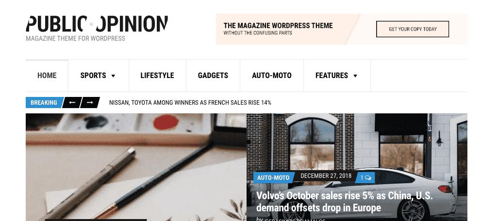public onion wordpress newspaper theme