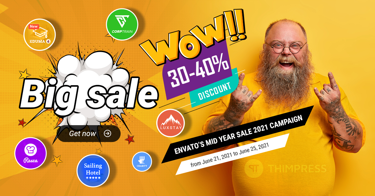 ThimPress Mid Year Sale 2021 Capaign