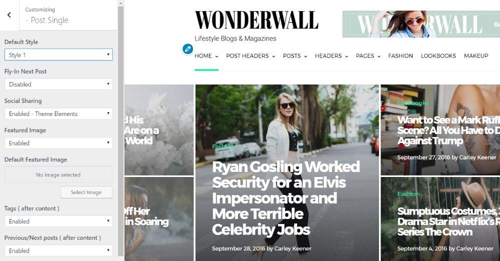 wonderwall wordpress newspaper theme