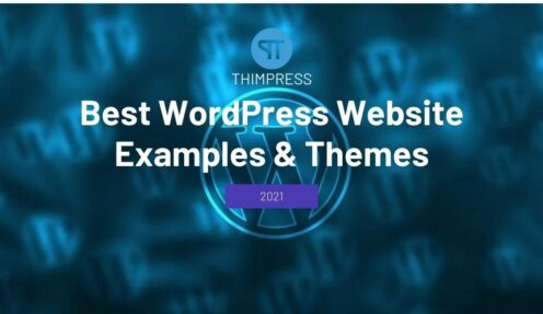 Best WordPress Website Examples & Themes That Are Worth Trying in 2021