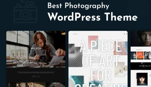 Best WordPress Photography Theme 2021