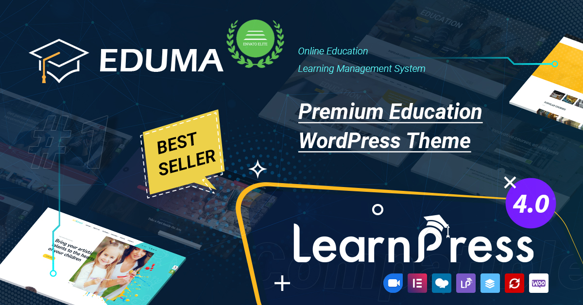Eduma - LMS & Education WordPress Theme