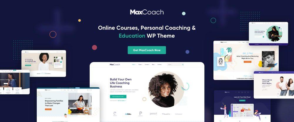 MaxCoach wordpress theme
