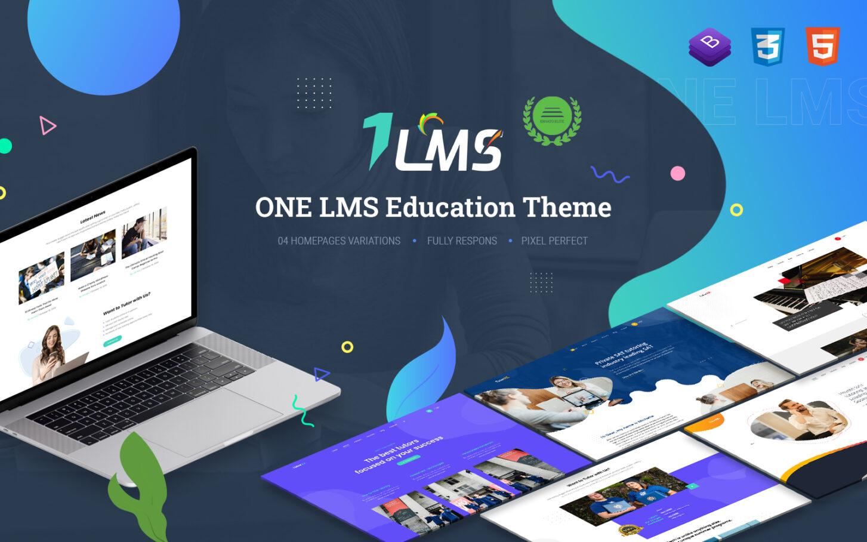 onelms stunning and efficient wordpress templatemonster theme