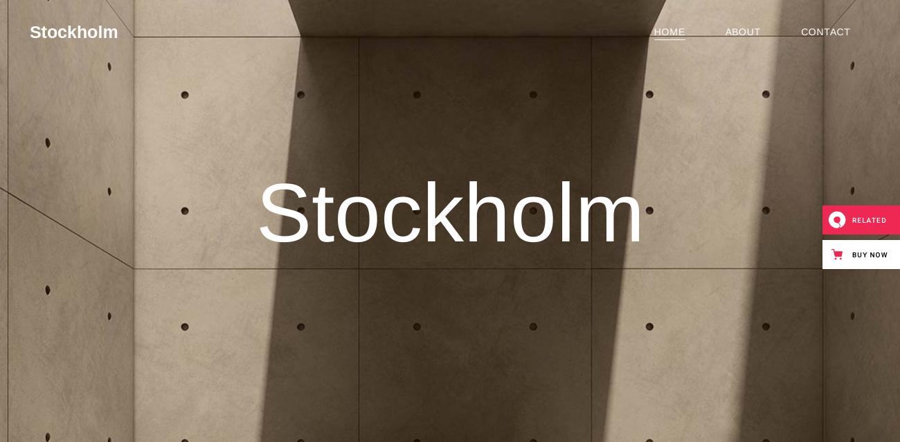 stockholm creative powerful wordpress theme