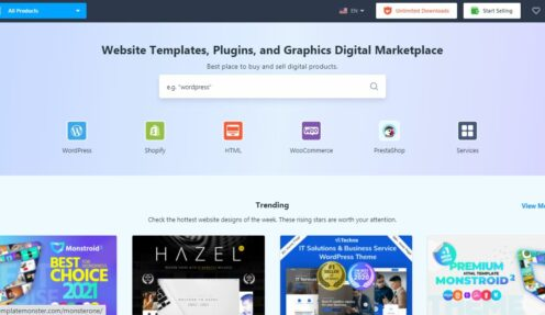 Best-Selling TemplateMonster Theme in 2021 (Compared)