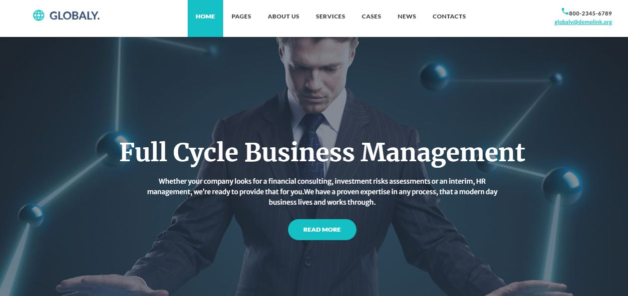 globally effective advisory and business management templatemonster theme