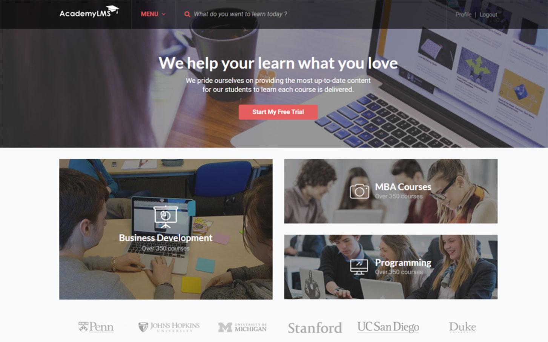 AcademyLMS: The Renovation for eLearning WordPress theme