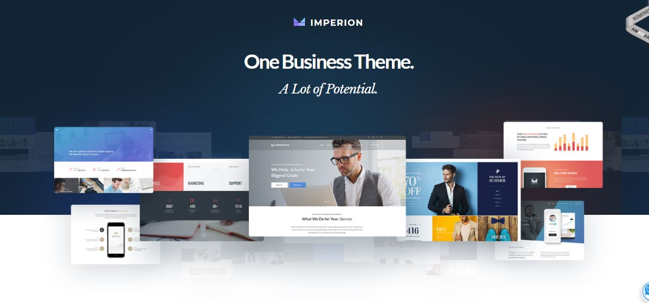 imperion potential business elementor theme